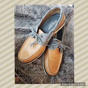 Barely Worn Sperry Leeward Top Sider Boat Shoe